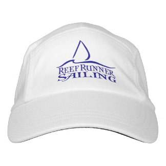 Dark Blue RRS Logo on White Hat