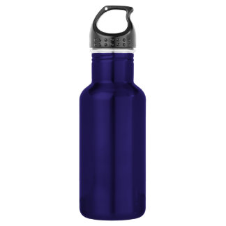 Dark Blue Solid Color 532 Ml Water Bottle
