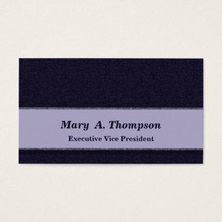 Dark Blue Texture Business Card