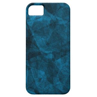 Dark Blue texture Custom iPhone 5 ID Case