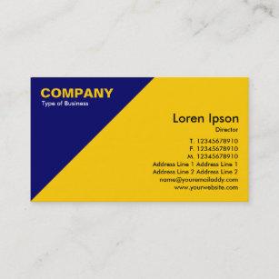 blue corner business cards business card printing zazzle ca