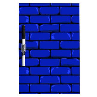 Dark Blue Wall Dry Erase Board