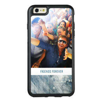 Dark Blue Watercolor | Add Photo OtterBox iPhone 6/6s Plus Case