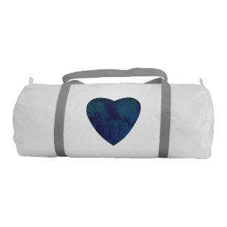 Dark Blue Watercolor Heart