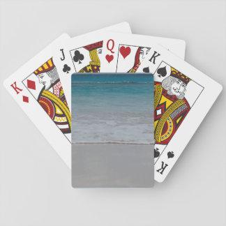Dark Blue Waterline Playing Cards