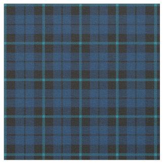 dark blue with blue strip plaid print fabric