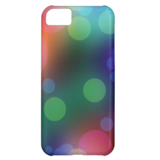 Dark Bokeh Lights iPhone 5 Case