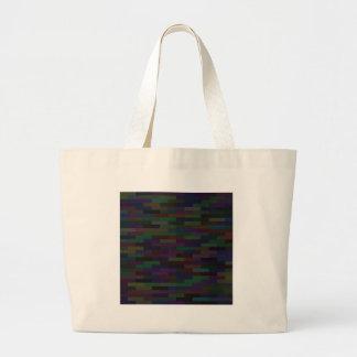 dark bricks large tote bag
