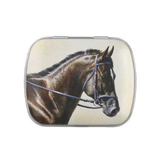 Dark Brown Bay Trakehner Dressage Horse