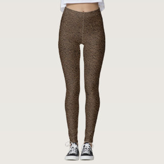 Dark Brown Dirt Leggins Leggings