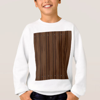Dark Brown Fence Fence Sweatshirt