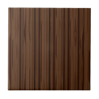 Dark Brown Fence Fence Tile