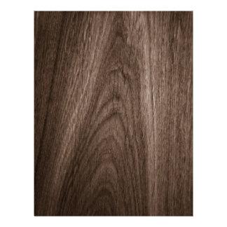 Dark brown oak wood grain scrapbook paper