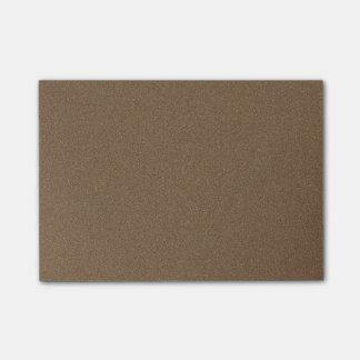 Dark Brown Star Dust Post-it Notes