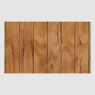 Dark brown wooden floor texture sticker
