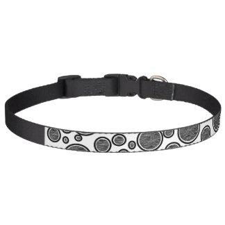 Dark Bubbles Pet Collar