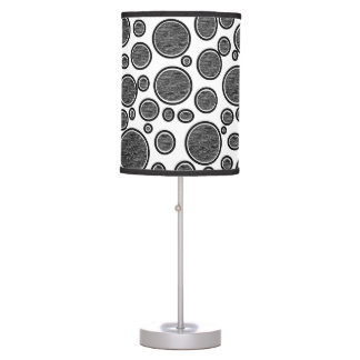 Dark Bubbles Table Lamp