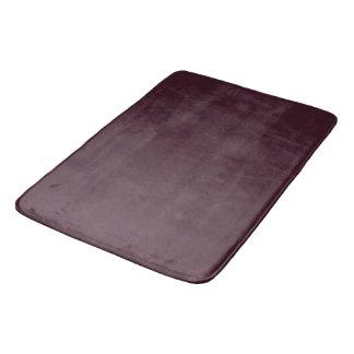 Dark Burgundy Textured Bath Mat