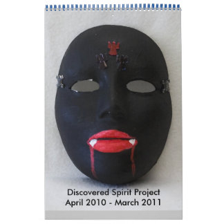 dark calendar April 2010 - March 2011