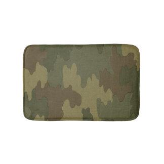 Dark Camouflage Bath Mat