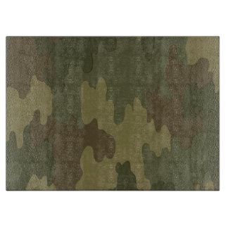 Dark Camouflage Cutting Board