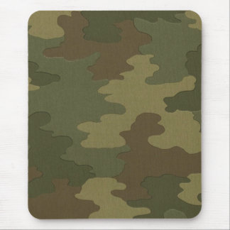 Dark Camouflage Mouse Pad