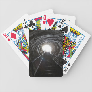 Dark Cave Tunnel Bicycle Playing Cards