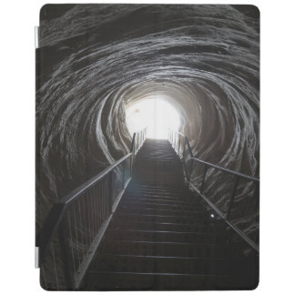 Dark Cave Tunnel iPad Cover