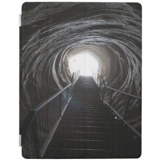 Dark Cave Tunnel iPad Cover