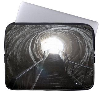 Dark Cave Tunnel Laptop Sleeve