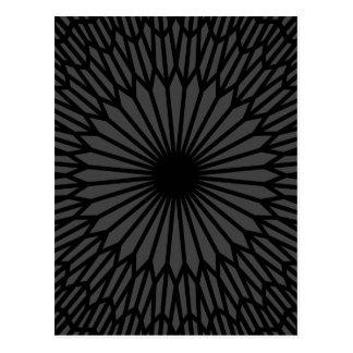 Dark Chakra Postcard
