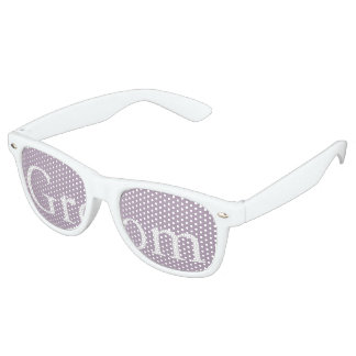 Dark Chalky Pastel Purple Wedding Party Gifts Sunglasses