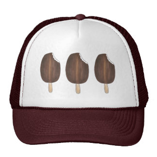 Dark Chocolate Ice Cream Popsicles Popsicle Hat