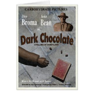 Dark Chocolate Movie Greeting Card