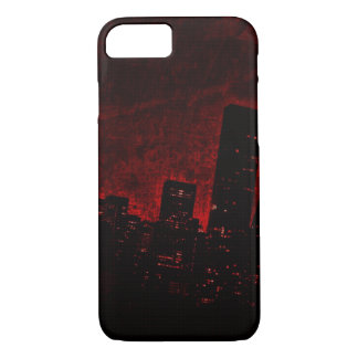 Dark City - Red - iPhone 7, Barely There iPhone 7 Case