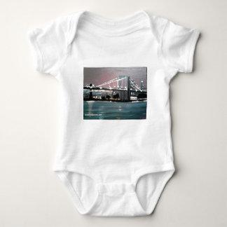 Dark CityScape Baby Bodysuit