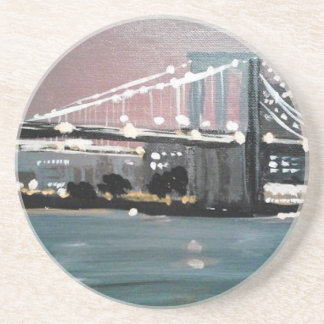 Dark CityScape Coaster