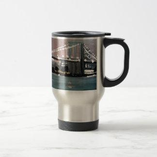Dark CityScape Travel Mug