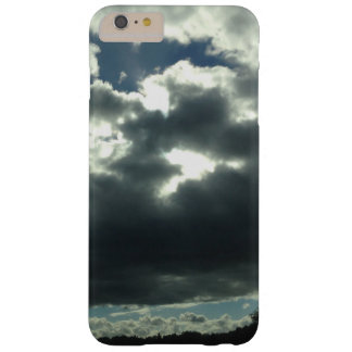 dark cloudy sunshine sky nature barely there iPhone 6 plus case