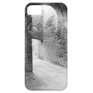 Dark corridors of an old fortification structure case for the iPhone 5