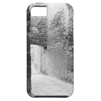 Dark corridors of an old fortification structure iPhone 5 covers