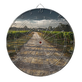 Dark Country Road Dartboard