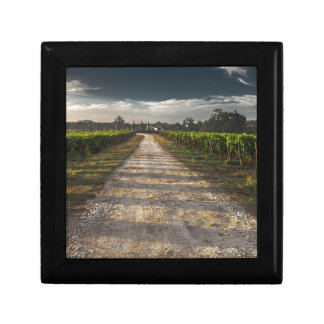Dark Country Road Gift Box