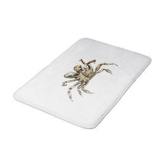 Dark Crab Photo Bath Mat