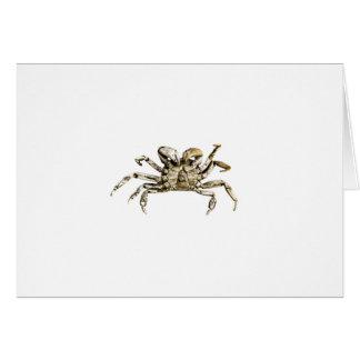 Dark Crab Photo Card