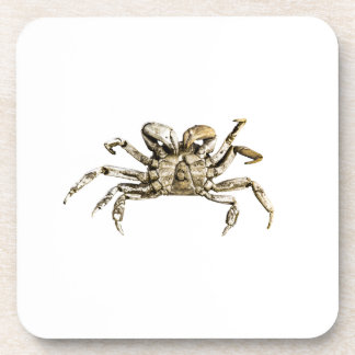 Dark Crab Photo Drink Coaster