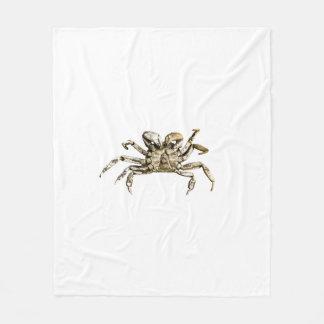 Dark Crab Photo Fleece Blanket