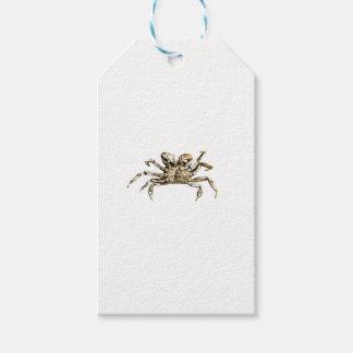 Dark Crab Photo Gift Tags
