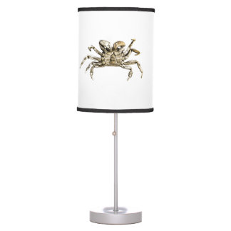Dark Crab Photo Table Lamp