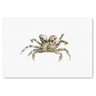 Dark Crab Photo Tissue Paper